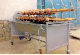 ГРИЛ - БАРБЕКЮ за печене меса, риба, зеленчуци