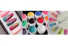 UV гелови бои за нокти