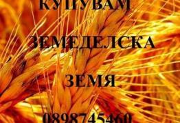 Купувам земеделска земя в област Стара Загора