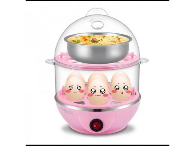 Яйцеварка с 1 или 2 нива-уред за бързо варене на 14 яйца