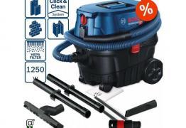 Прахосмукачка за мокро/сухо прахоулавяне GAS 15 PS Professional