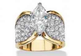 Пръстен злато и диаманти, нов