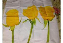 "Калъфка ""Жълти рози"", нова"